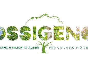 """""""Ossigeno"""", il Progetto della Regione Lazio: 6 milioni di nuovi alberi"""