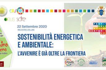 Sostenibilità energetica e ambientale: l'avvenire è già oltre la frontiera